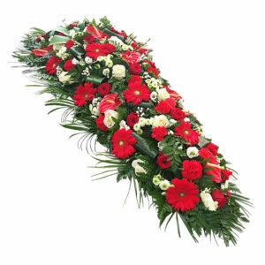 Dessus de Cercueil Grenat